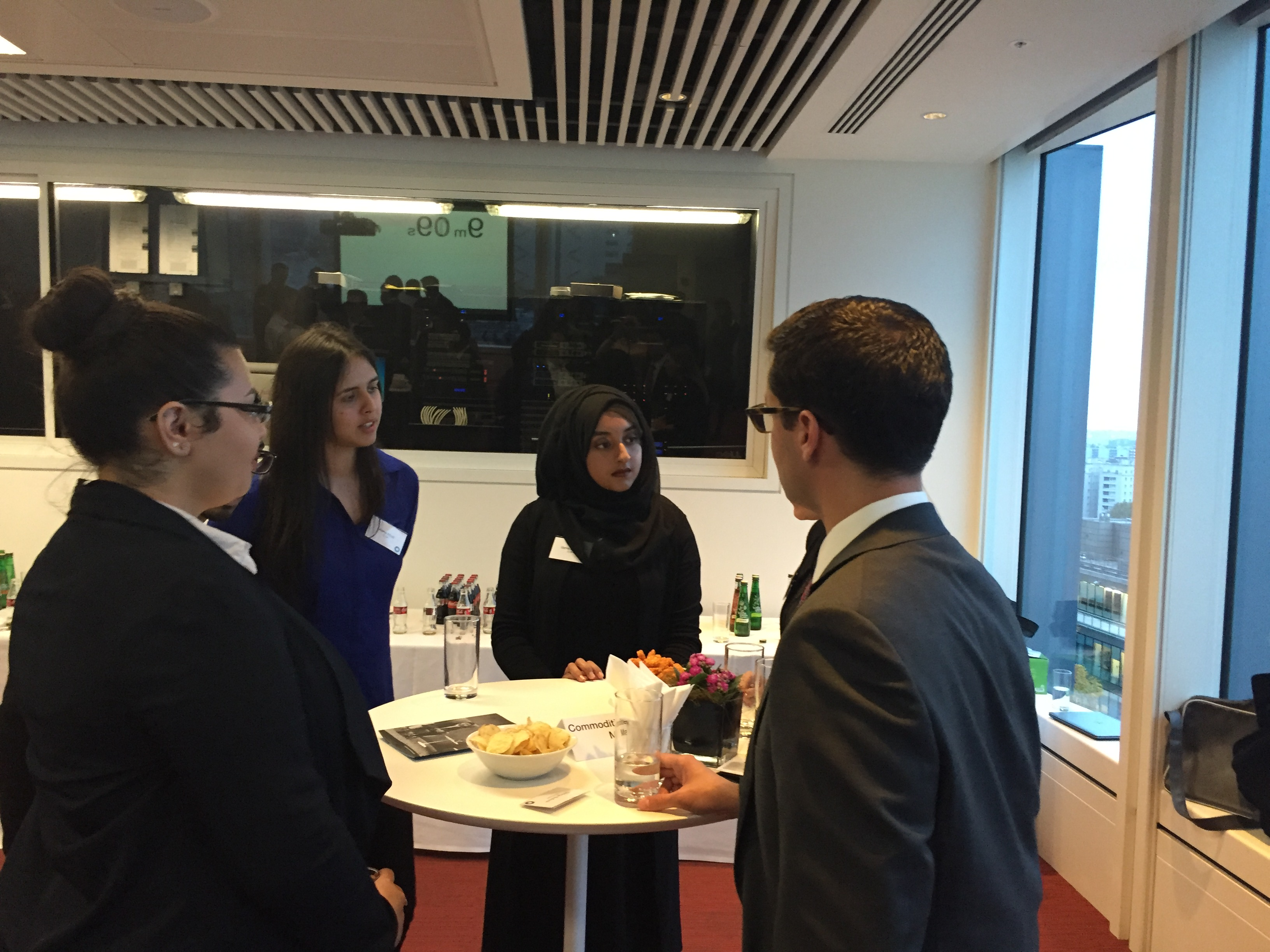 Image for London Works hosts Speed Networking Event with Macquarie